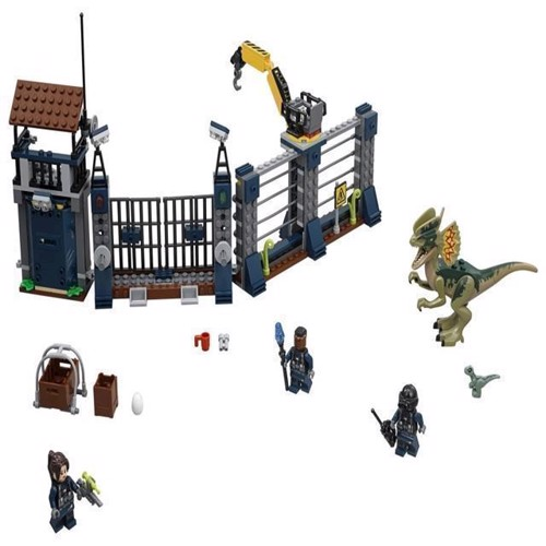 Image of Lego Jurassic World 75931 Dilophosaurus Outpost Attack