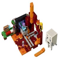 Lego Minecraft 21143 Nether portalen