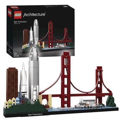 Image of LEGO Architecture 21043 San Francisco (5702016368307)