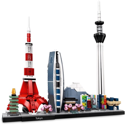 Image of Lego Architecture 21051 Tokyo (5702016617337)