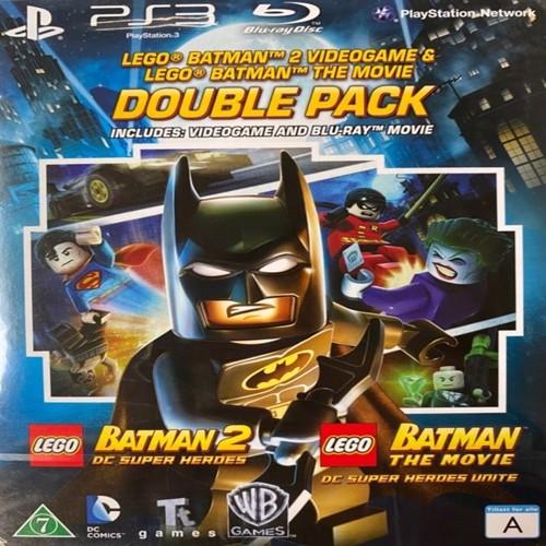 Image of Lego Batman 2: DC Superheroes & Lego Batman The Movie (Blu-Ray) PS3 (5051895381632)