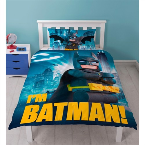 Image of Lego Batman Movie Sengetøj 2I1 Design
