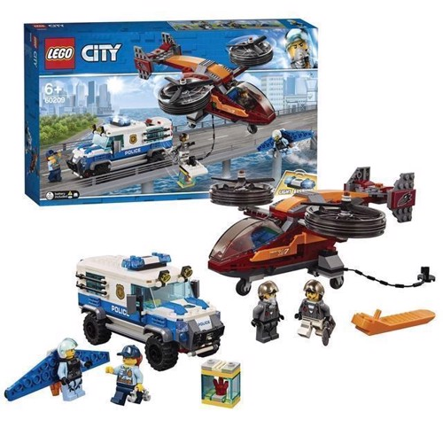 Image of LEGO City 60209 luftpoliti diamant høst
