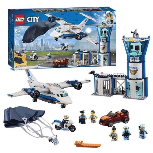 Image of LEGO City 60210 luft politi Air Force Base