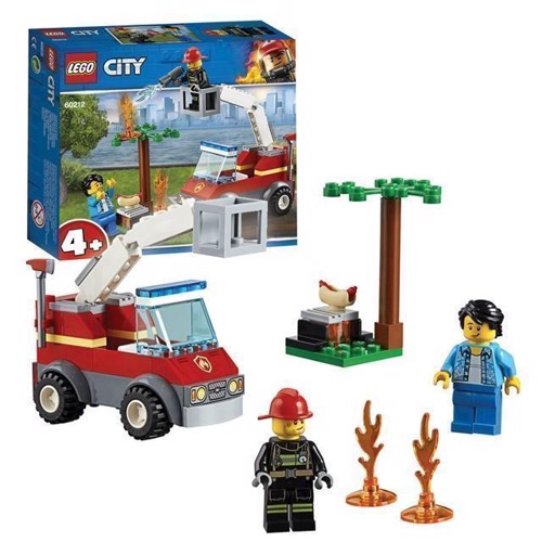 Image of LEGO City 60212 Barbecue brandslukniong