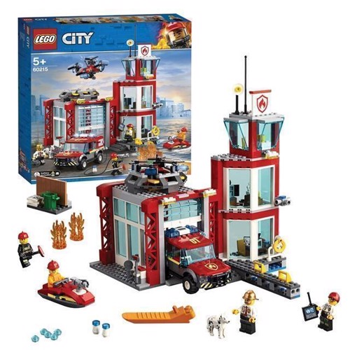 Image of Lego City 60215 Brandstation