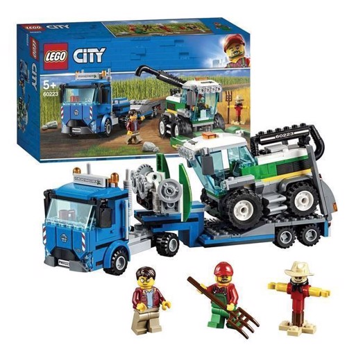Image of LEGO City 60223 kombineret høst transport