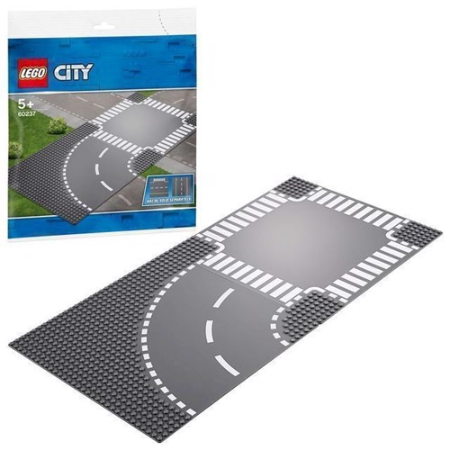 Image of LEGO City 60237 Kryds & Vejsving.
