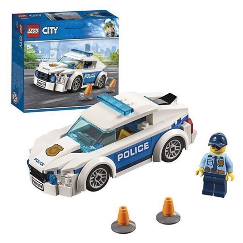 Image of LEGO City 60239 politi patrulje bil