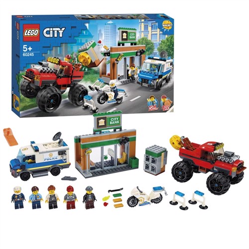 Image of Lego city 60245 politi monstertruck kup