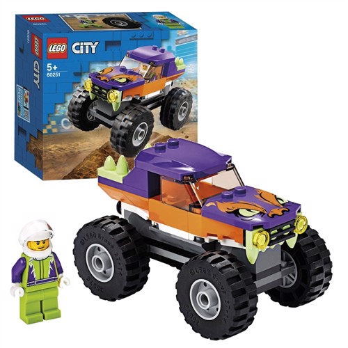 Image of Lego city 60251, monstertruck