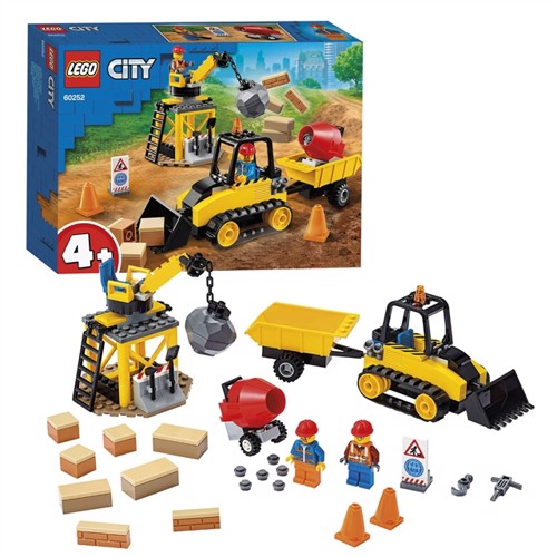 Image of Lego city 60252, bulldozer