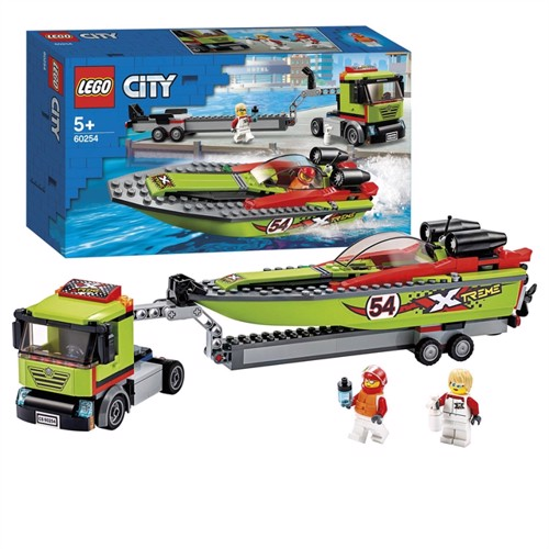 Image of Lego city 60254, roadboat transport
