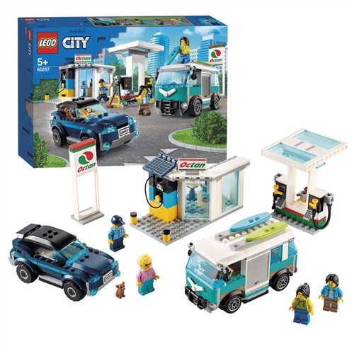 Image of Lego city 60257, gas station