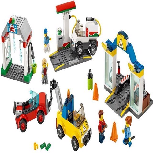 Image of Lego City 60232 garage center