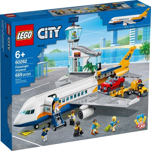 Image of LEGO City - Passenger Airplane (60262) (5702016617962)