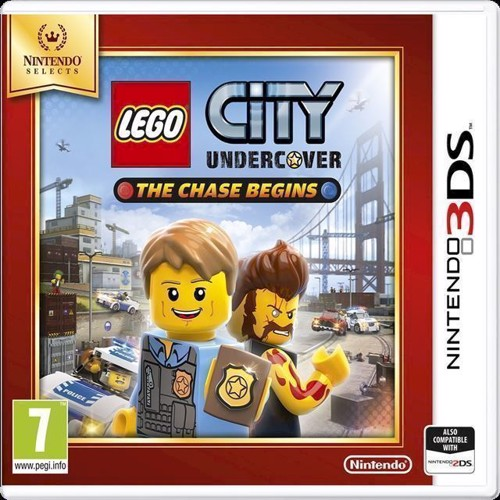 Image of LEGO City Undercover The Chase Begins Selects - Nintendo 3DS