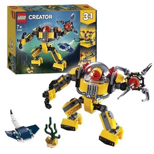 Image of LEGO Creator 31090 Undervandsrobot