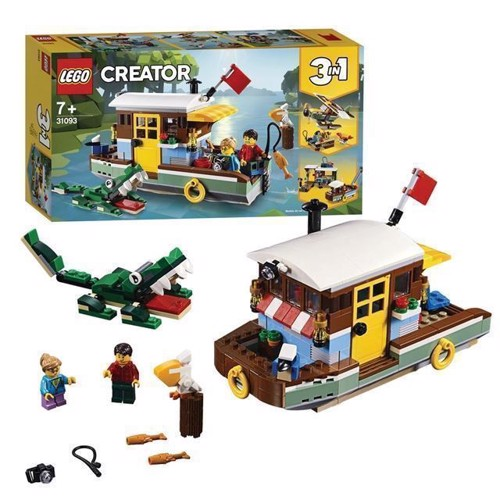 Image of LEGO Creator 31093 Husbåd