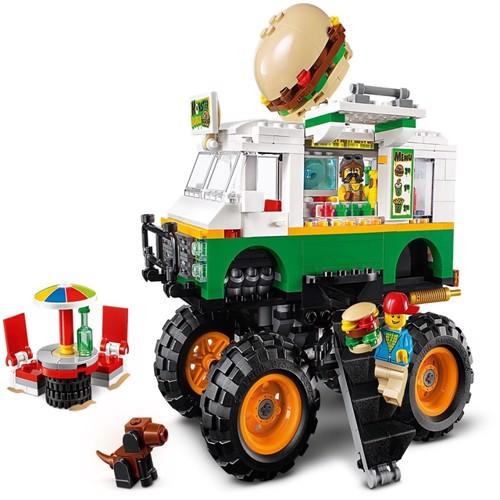 Image of Lego Creator 31104 monstertruck burger
