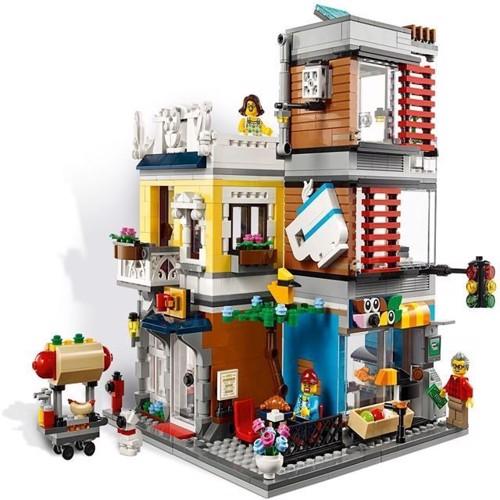 Image of Lego Creator 31097 Town house dyrehandel