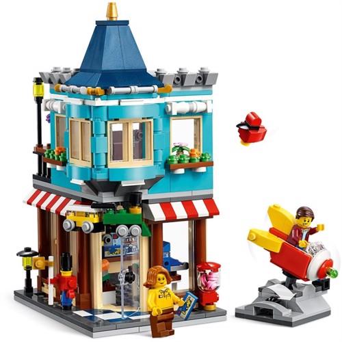 Image of Lego Creator 31105 townhouse legetøjsbutik