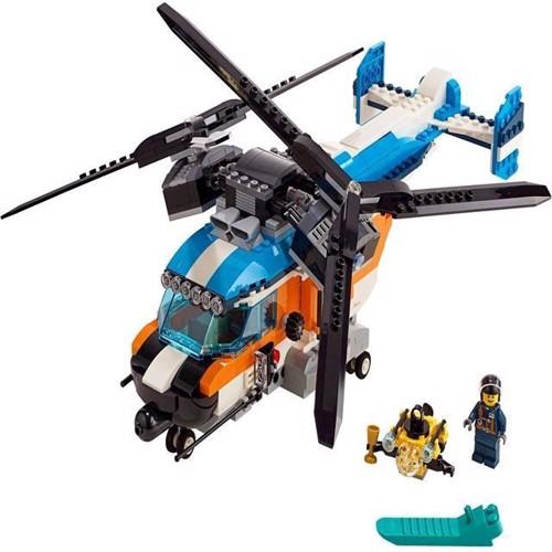 Image of Lego Creator 31096 tvillinge rotor helikopter