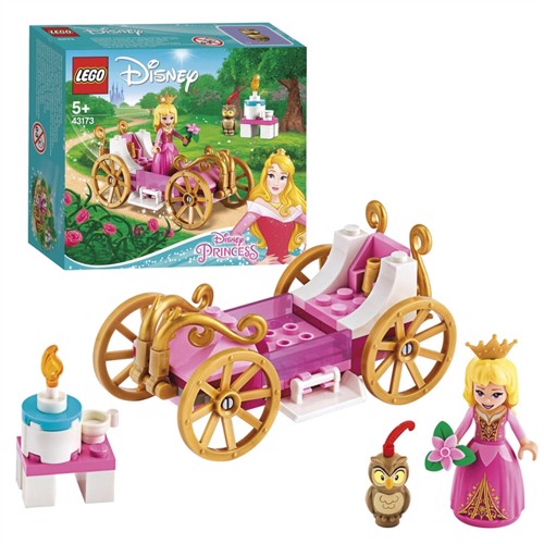 Image of Lego Disney Princess 43173 Torneroses royale vogn