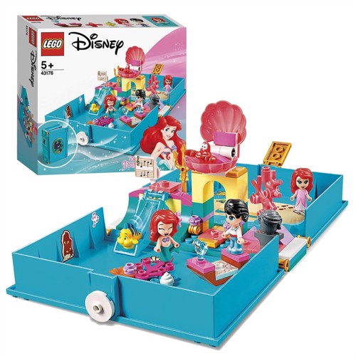 Image of Lego Disney princess 43176 Ariels historiebogs eventyr