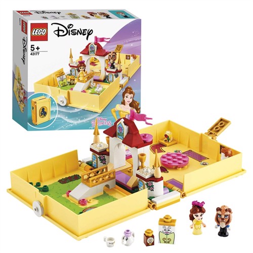 Image of Lego Disney princess 43177 Belles historiebogs eventyr