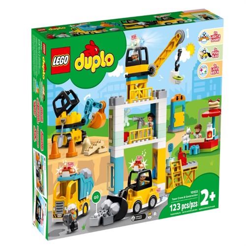 Image of LEGO DUPLO - Tower Crane & Construction (10933) (5702016618228)