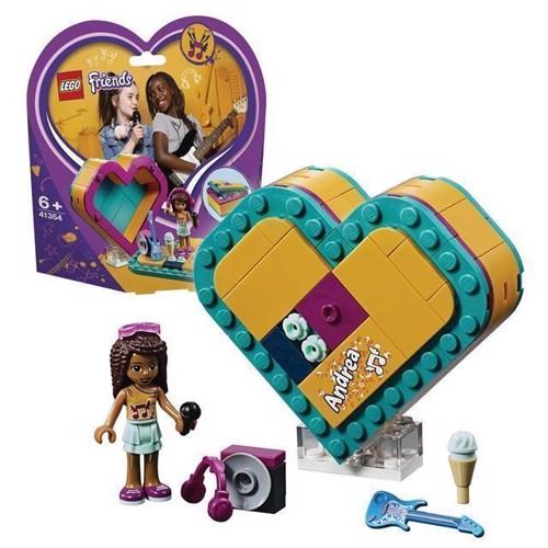Image of LEGO Friends 41354 Andreas hjerteformede kasse