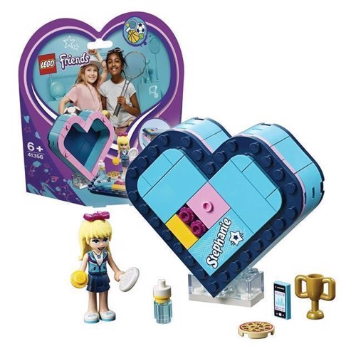 Image of LEGO Friends 41356 Stephanies hjerteformede kasse