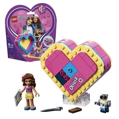 Image of LEGO Friends 41357 Olivias hjerteformede kasse