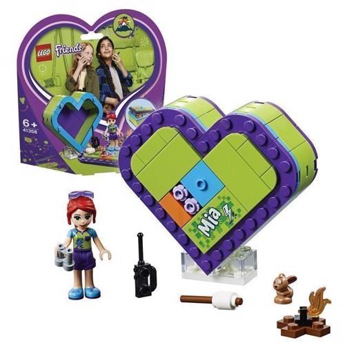 Image of LEGO Friends 41358 Mias hjerteformede kasse