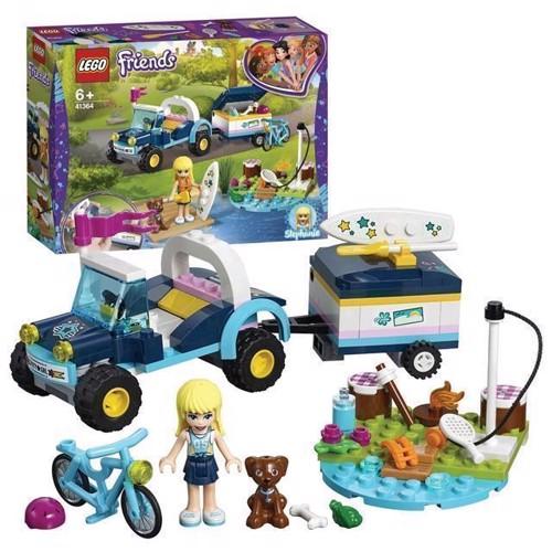 Image of Lego Friends 41364 Stephanies Bil Og Trailer
