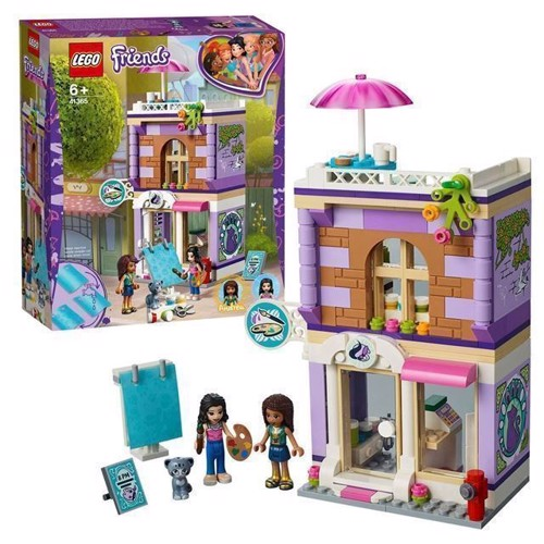 Image of LEGO Friends 41365 Emmas kunst butik
