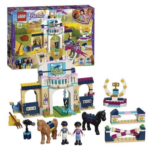 Image of LEGO Friends 41367 Stephanies heste konkurence
