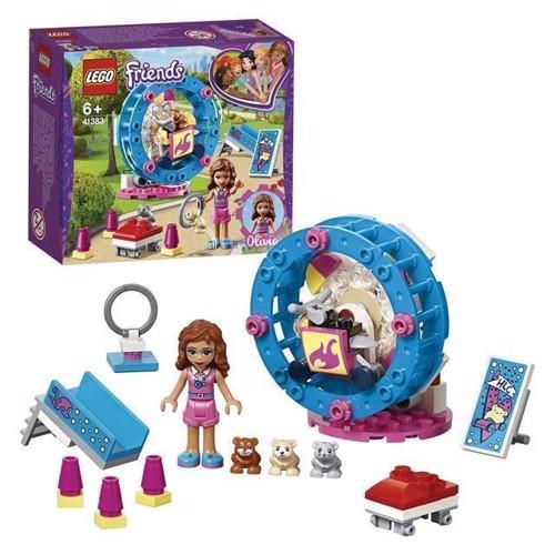 Image of LEGO Friends 41383 Olivias hamster legeplads