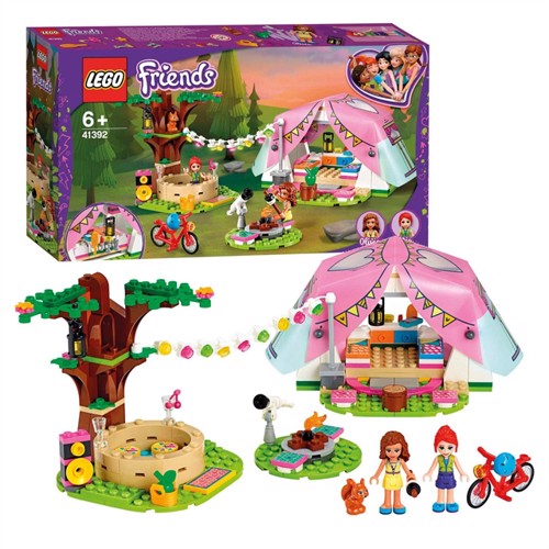 Image of Lego friends 41392 glamping i naturen