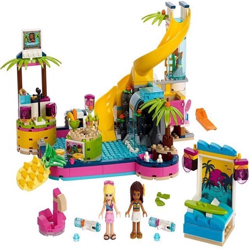 Image of Lego Friends 41374 Andreas pool party
