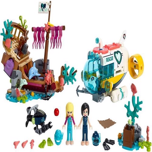 Image of Lego Friends 41378 delfin rednings mission