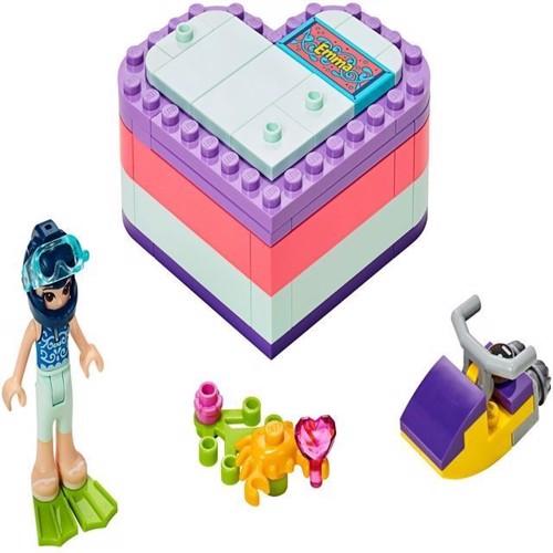 Image of Lego Friends 41385 Emmas sommer hjerte boks