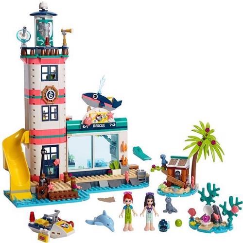Image of Lego Friends 41380 fyrtårn redningscenter