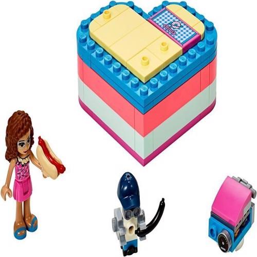 Image of Lego Friends 41387 Olivias sommer hjerte boks