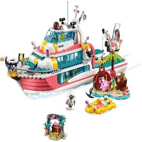 Image of Lego Friends 41381 redningsmissions båd