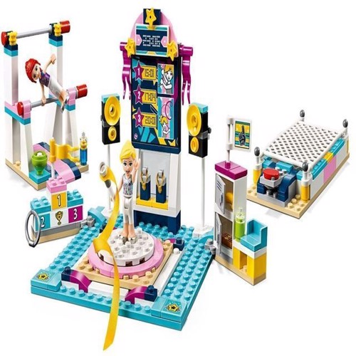 Image of Lego Friends 41372 Stephanies gymnastik show