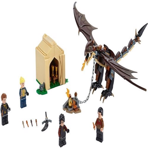 Image of Lego Harry Potter 75946 Hungarian Horntail Triwizard Challeng