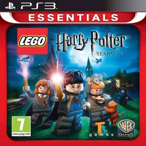 Image of LEGO Harry Potter Years 14 Essentials - PS3 (5051895229965)