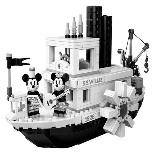 Image of Lego Ideas 21317 Dampbåd Willie